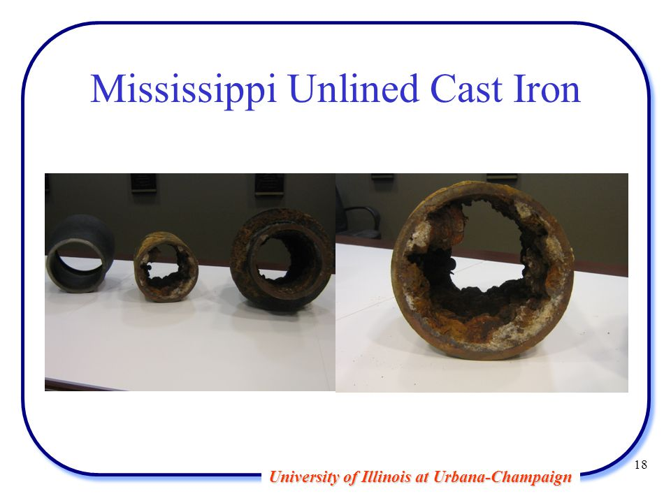 University of Illinois at Urbana-Champaign Mississippi Unlined Cast Iron 18