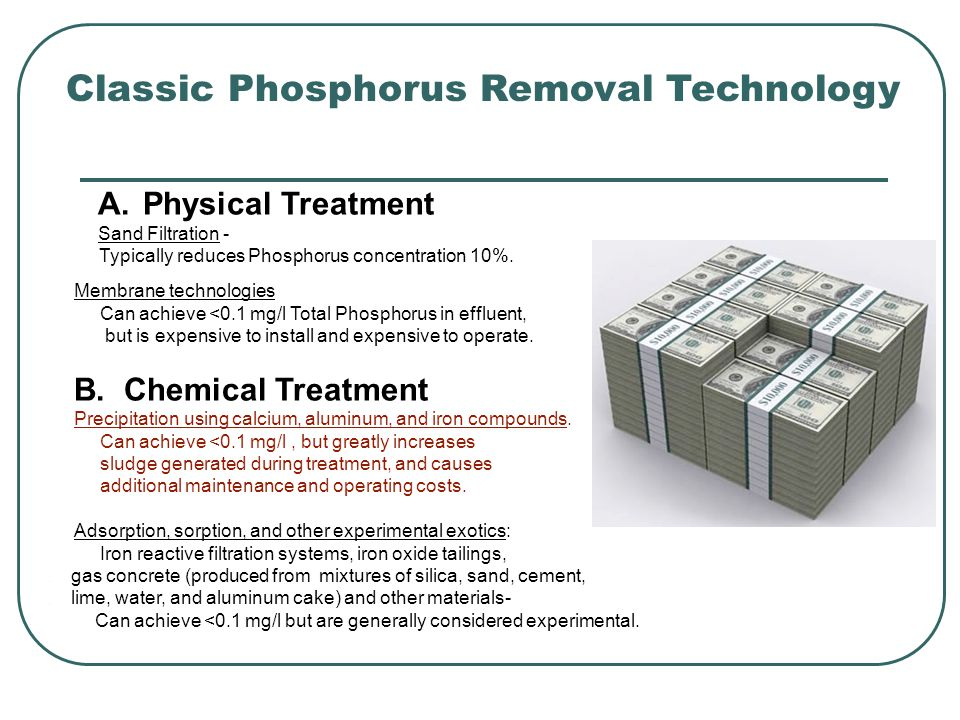 Classic Phosphorus Removal Technology A.