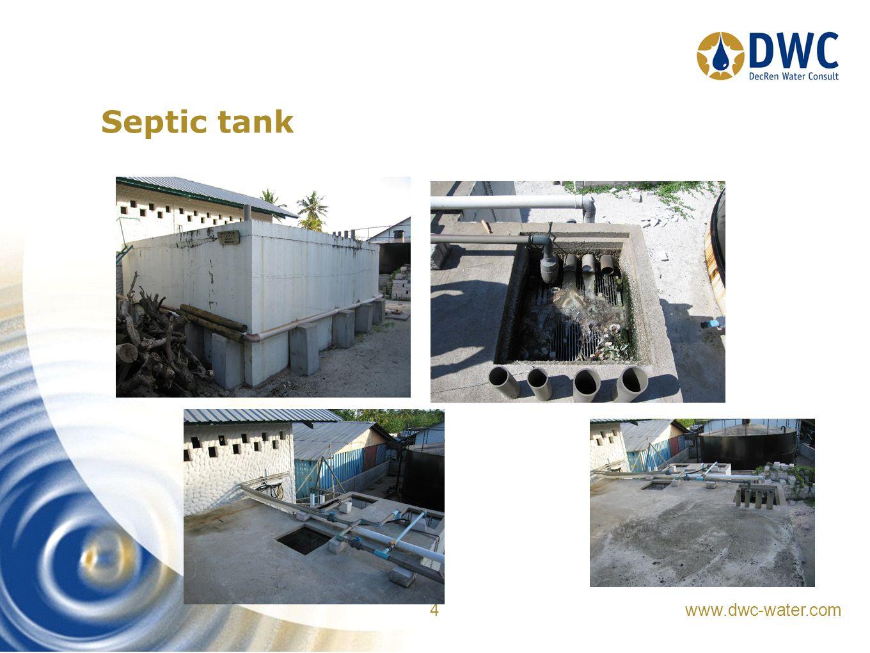 www.dwc-water.com 4 Septic tank