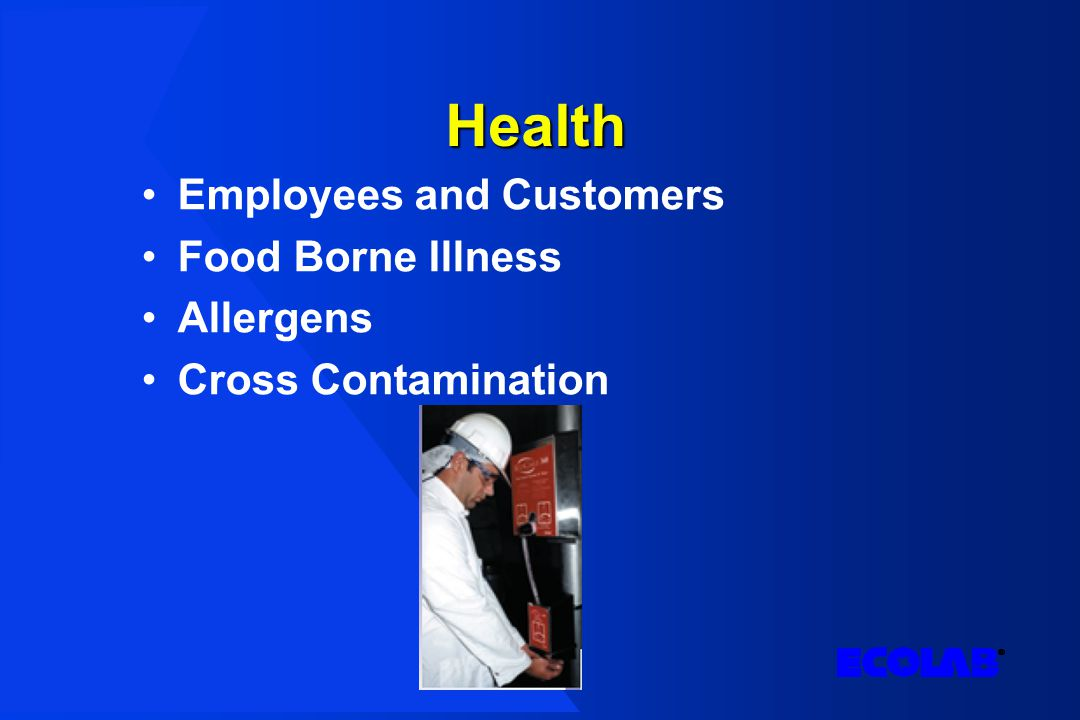Health Employees and Customers Food Borne Illness Allergens Cross Contamination