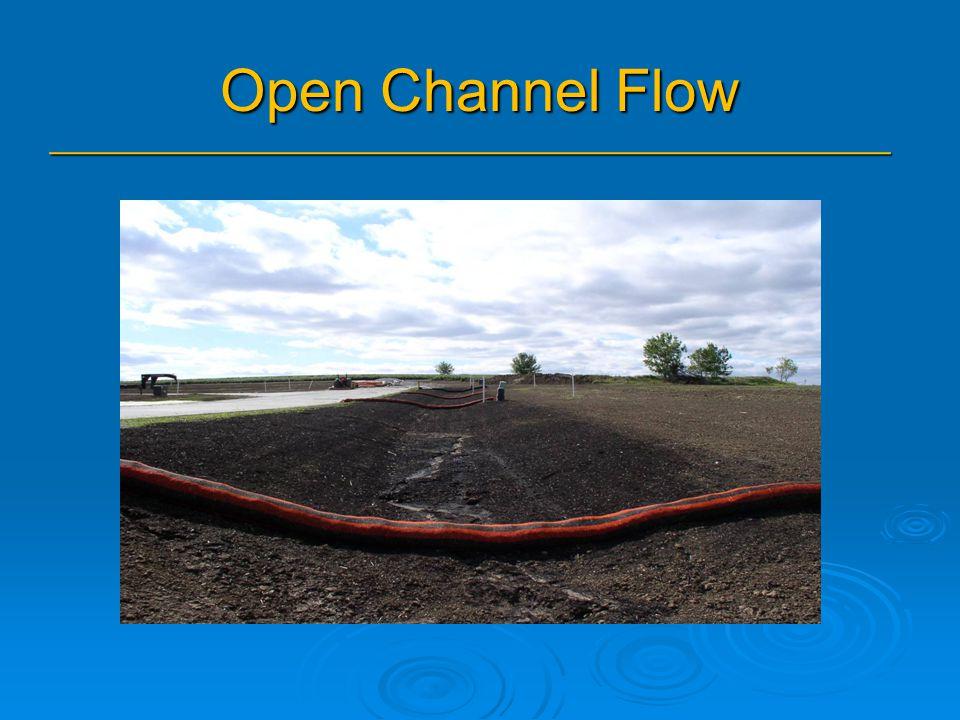 Open Channel Flow _______________________________________________