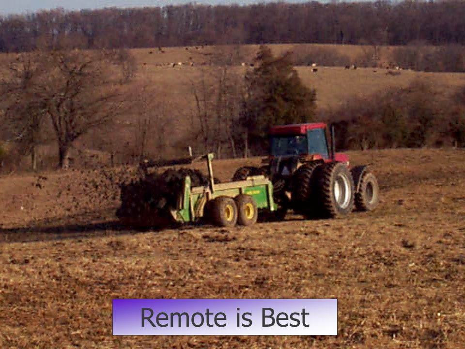 Remote is Best