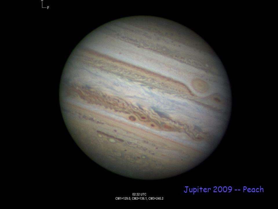 Jupiter 2009 -- Peach