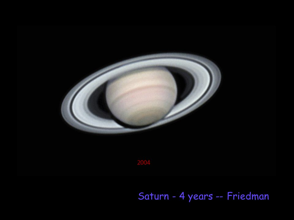 Saturn - 4 years -- Friedman