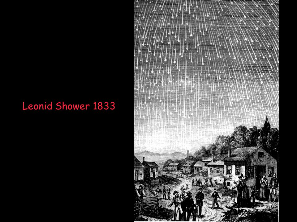 Leonid Shower 1833