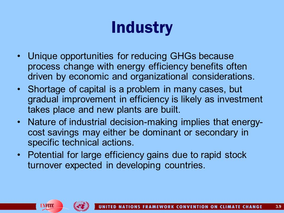 3.10 Industry: Energy Intensity in Pulp and Paper Industry Energy intensity (energy use per unit of value added) has been reducing over the past two decades in many industries, including iron and steel and pulp and paper.