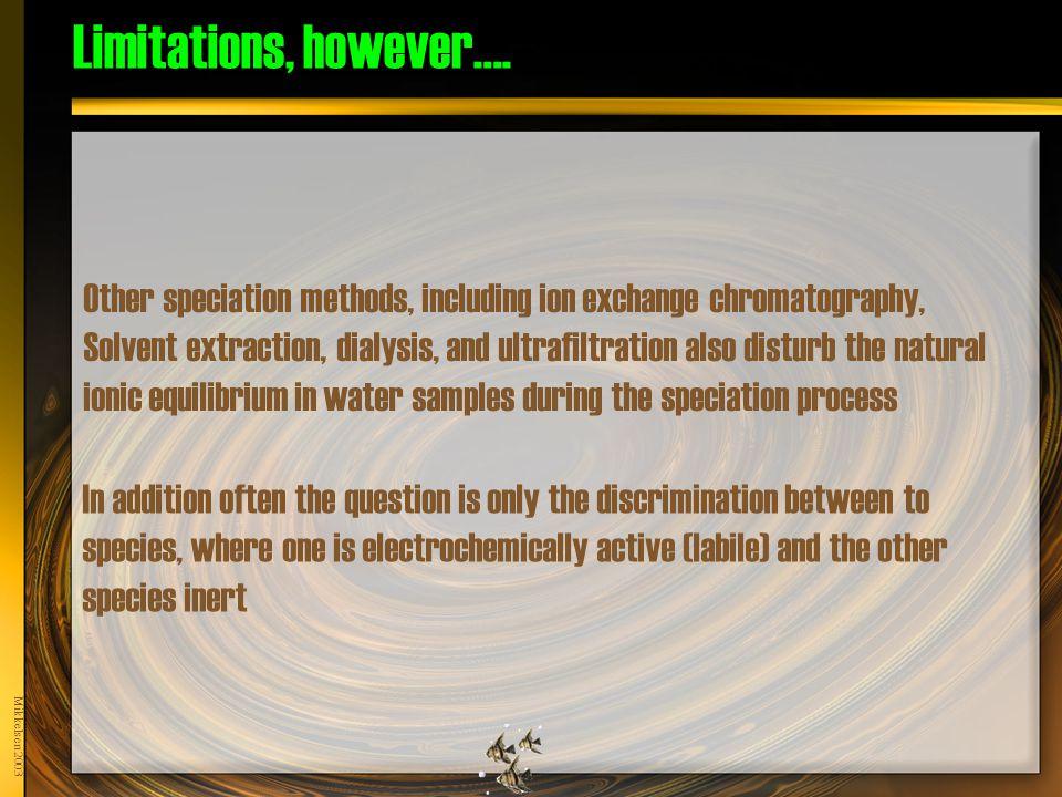 Mikkelsen 2003 Limitations, however….
