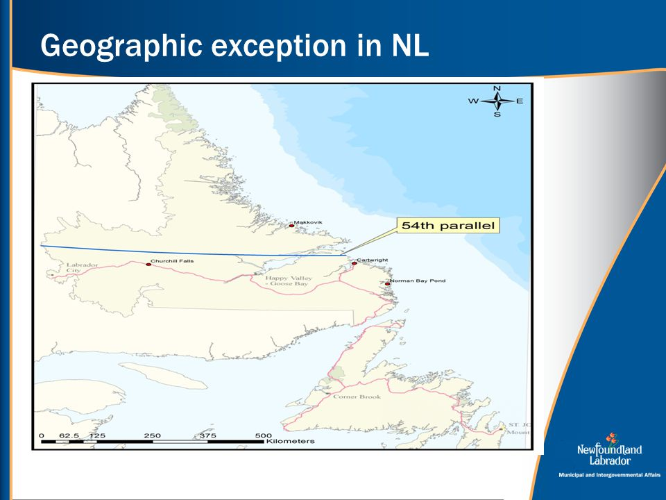 Geographic exception in NL