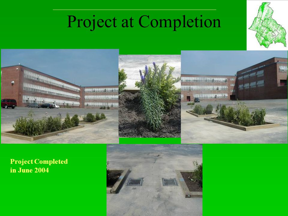 Project at Completion Project Completed in June 2004