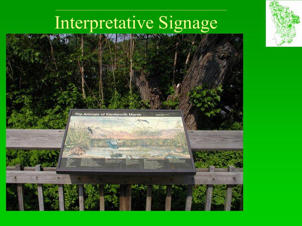 Interpretative Signage