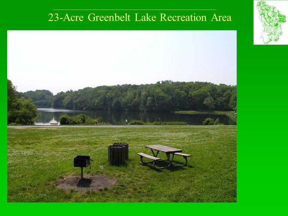 23-Acre Greenbelt Lake Recreation Area