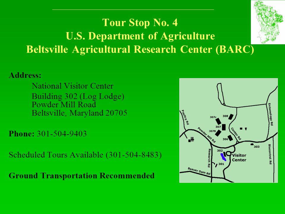 Tour Stop No. 4 U.S.
