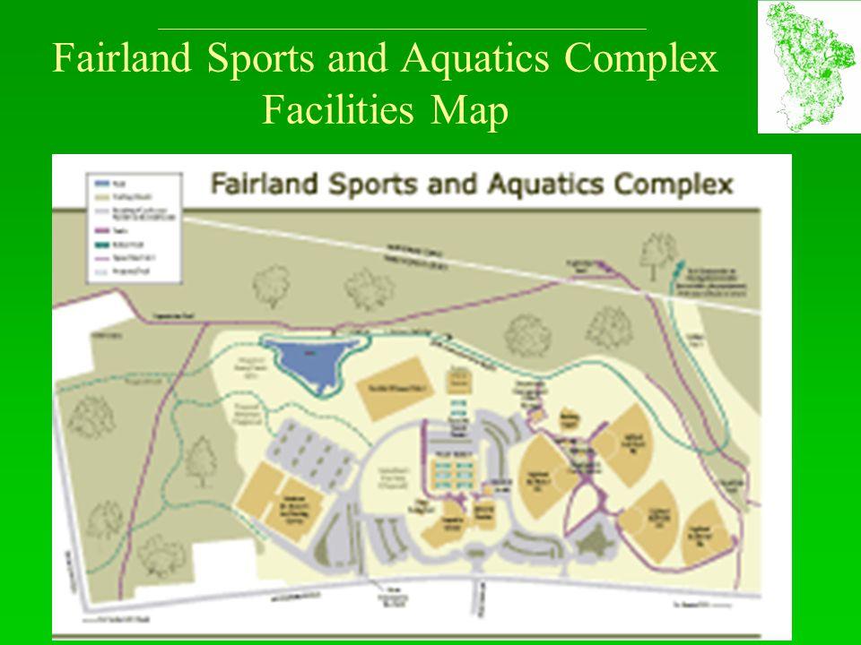 Fairland Sports and Aquatics Complex Facilities Map