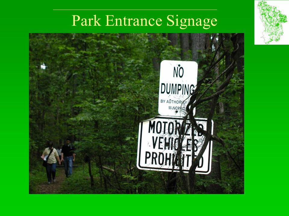 Park Entrance Signage