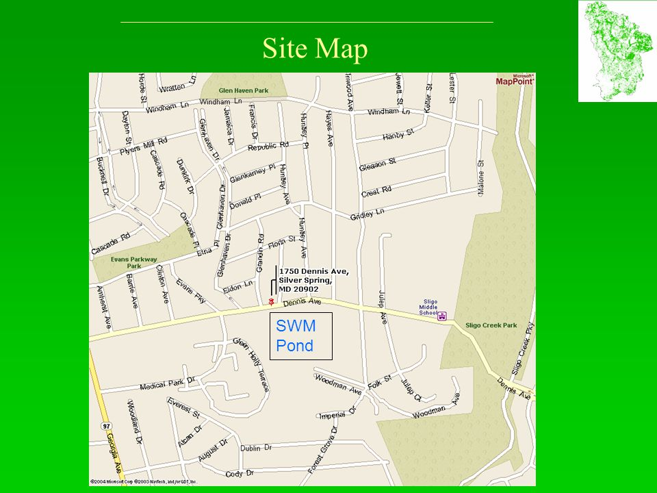 Site Map SWM Pond