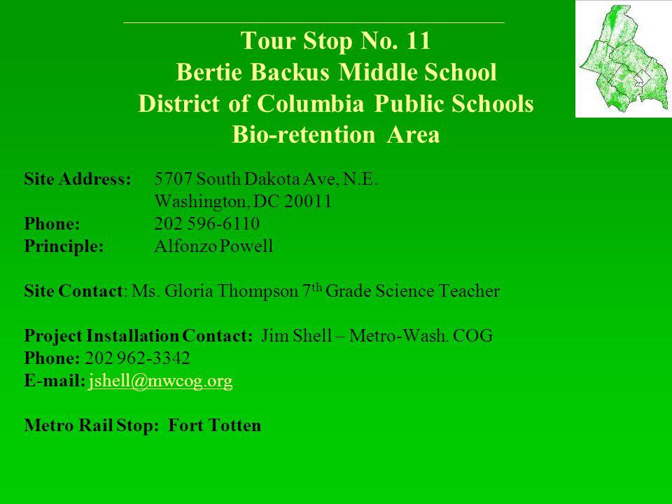 Tour Stop No.
