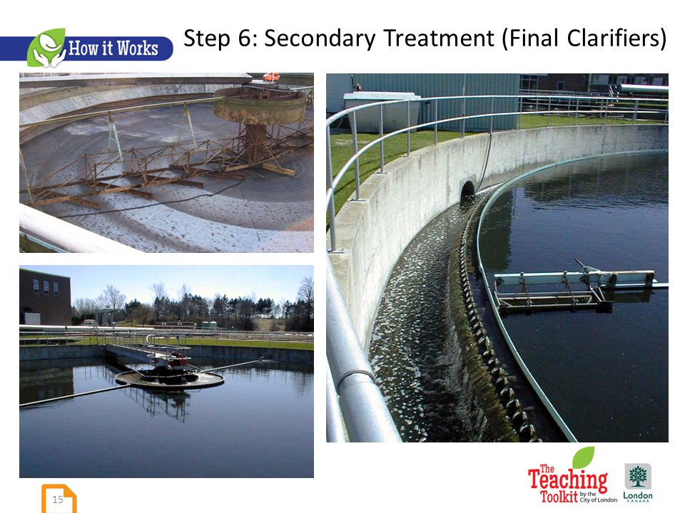 Step 6: Secondary Treatment (Final Clarifiers) 15