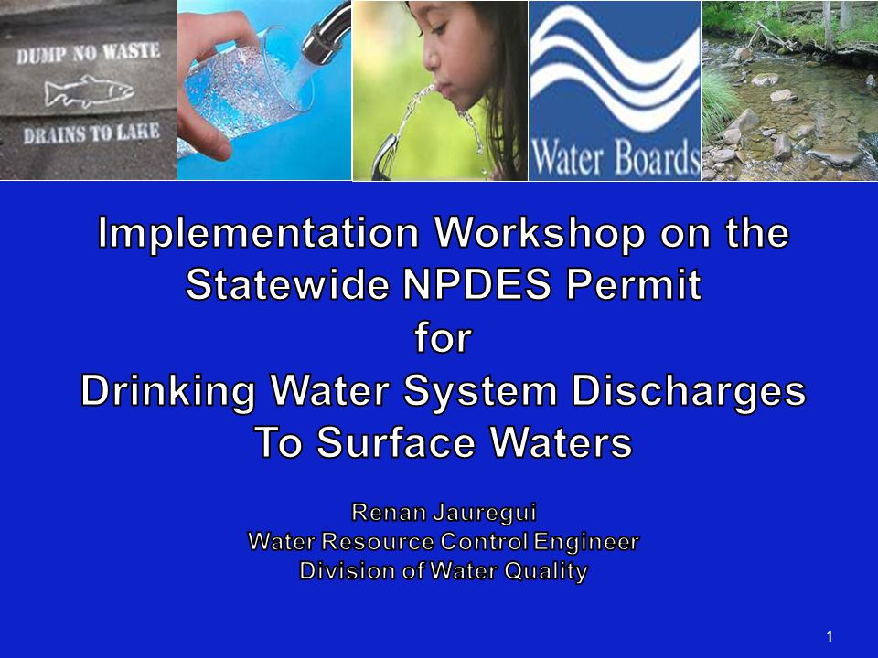 DWS NPDES Permit Monitoring Requirements   Monitoring requirements.