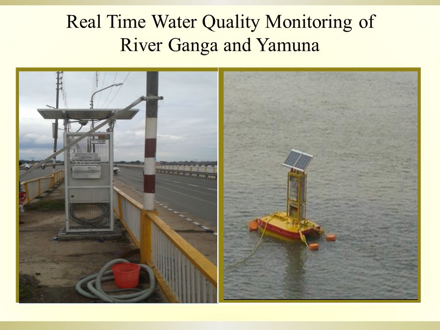 Real Time Water Quality Monitoring of River Ganga and Yamuna