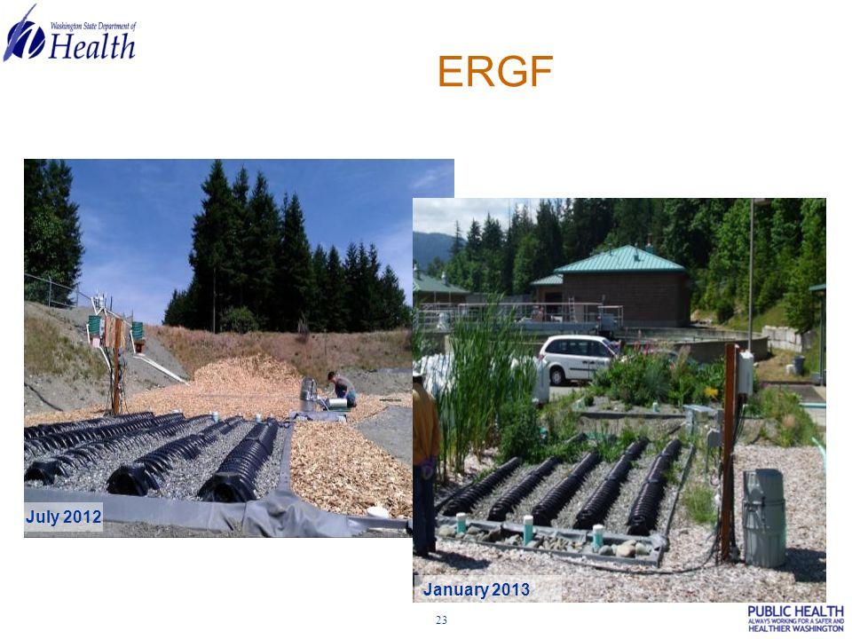 23 ERGF July 2012 January 2013