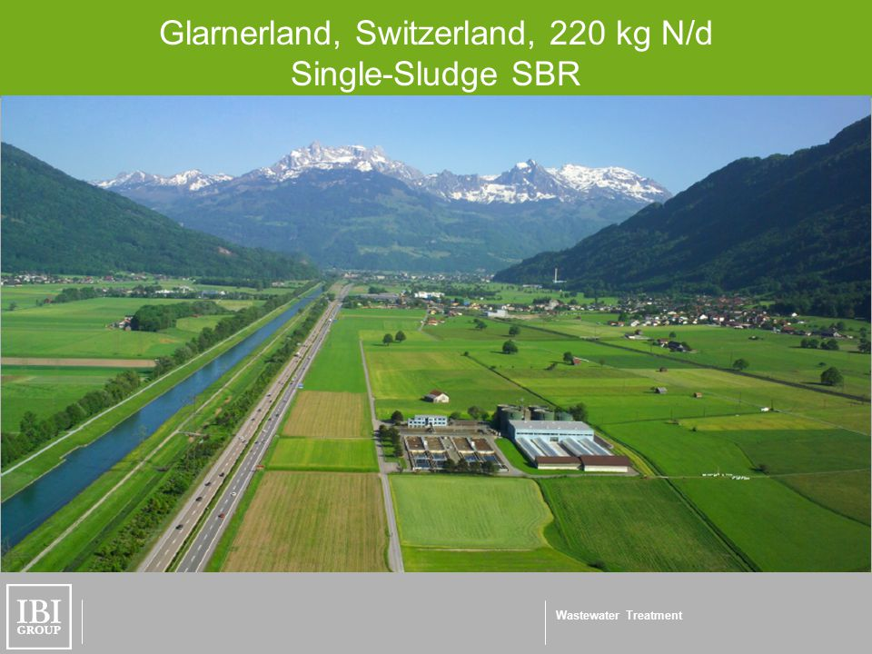 Wastewater Treatment Glarnerland, Switzerland, 220 kg N/d Single-Sludge SBR