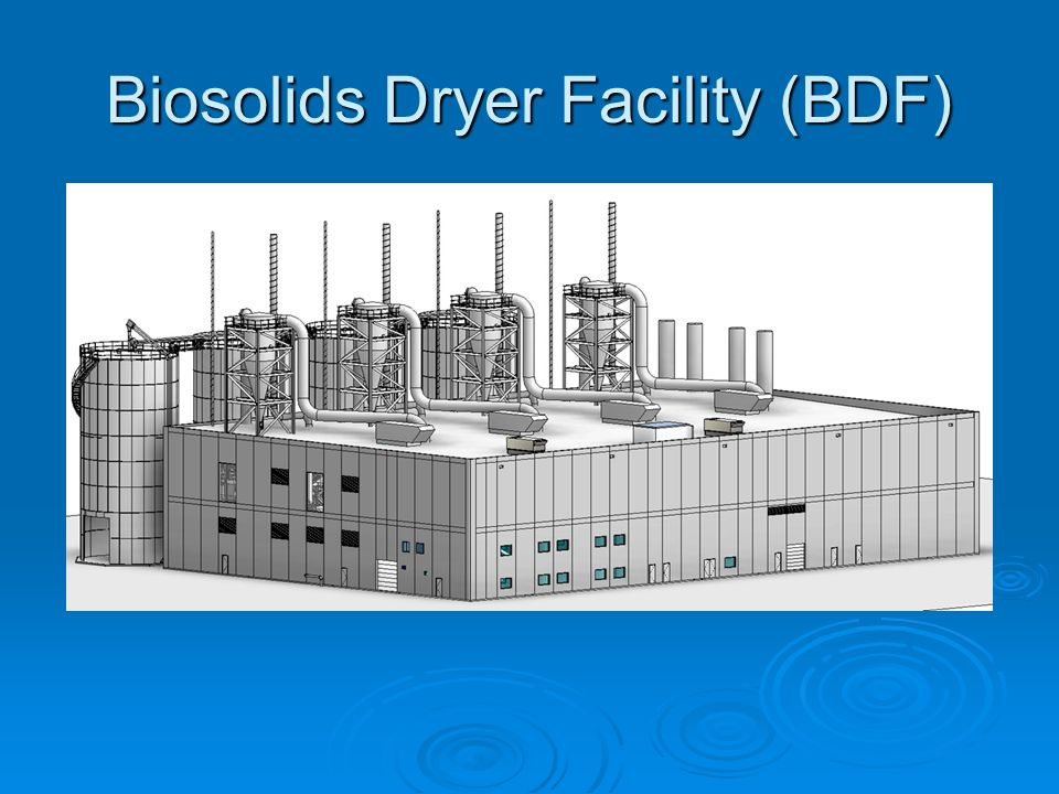 Biosolids Dryer Facility (BDF)
