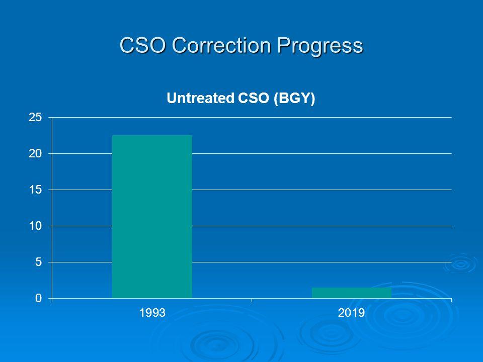 CSO Correction Progress
