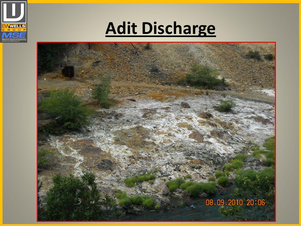 Adit Discharge