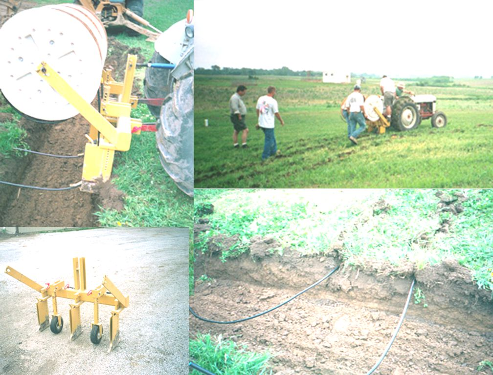 38  Frequent application of small quantities of wastewater just below soil surface with applicators along distribution line (less than 1 gal/hr per ft of pipe)  Drip systems have been used in agriculture for 30 years