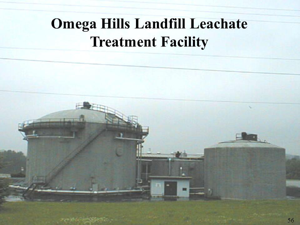 Omega Hills Landfill Leachate Treatment Facility 56