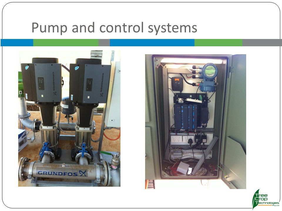 Pump and control systems