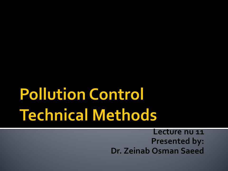 Lecture nu 11 Presented by: Dr. Zeinab Osman Saeed