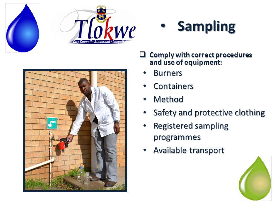 CHALLENGES: Waste Water Storm water infiltration: Reasons: Reasons: – Large paved areas – Open gullies – Unsealed manholes – Theft and vandalism of manhole covers – Illegal storm water connections.