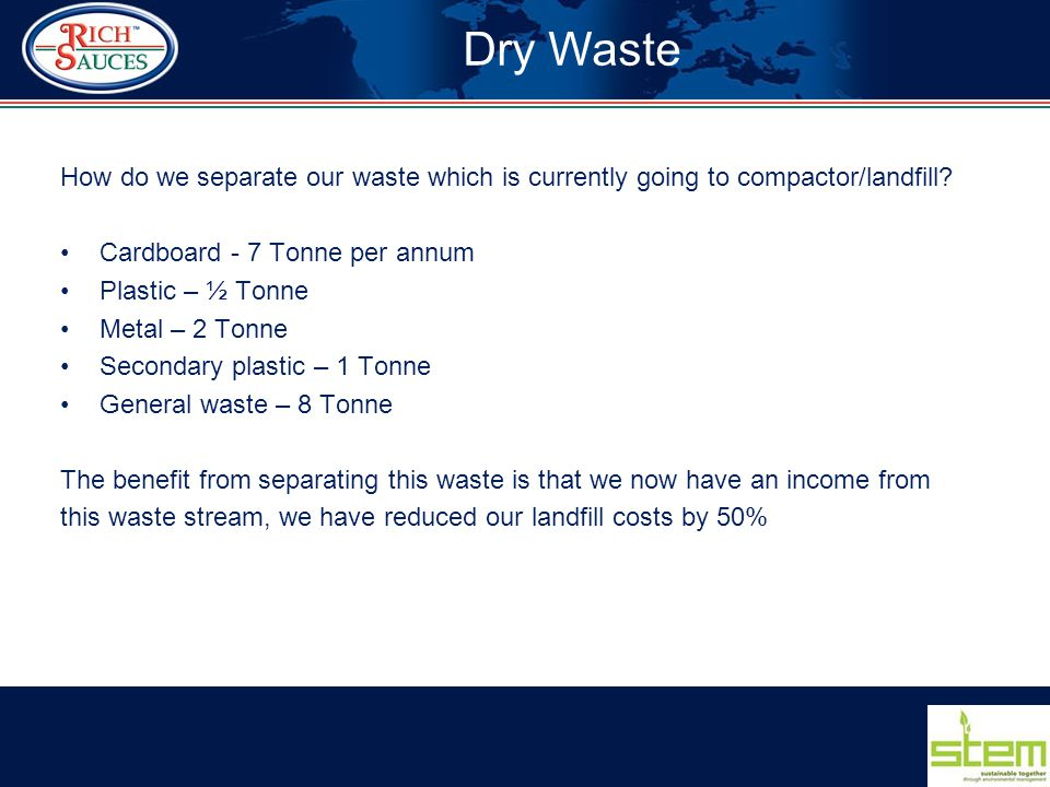 How do we separate our waste which is currently going to compactor/landfill.
