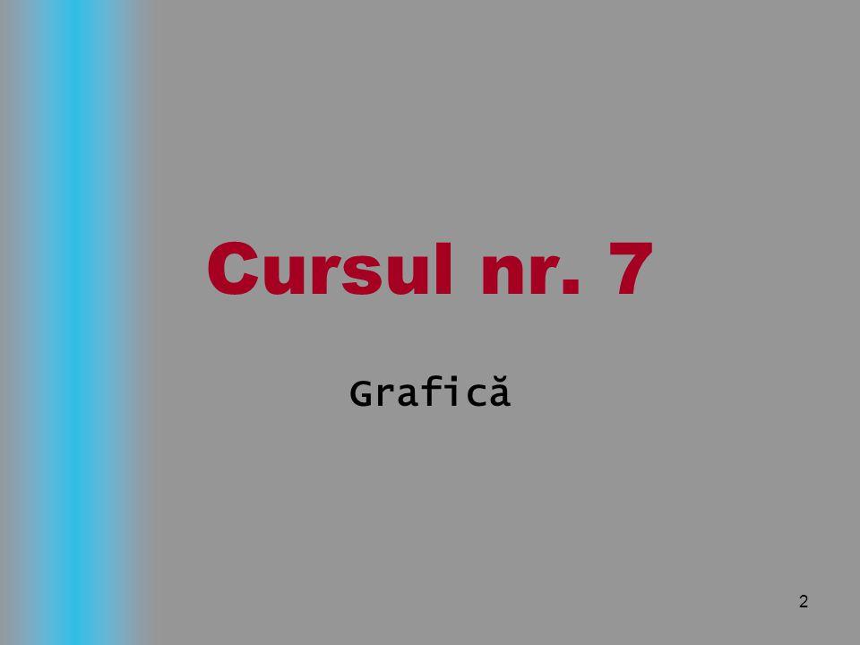 2 Cursul nr. 7 Grafică