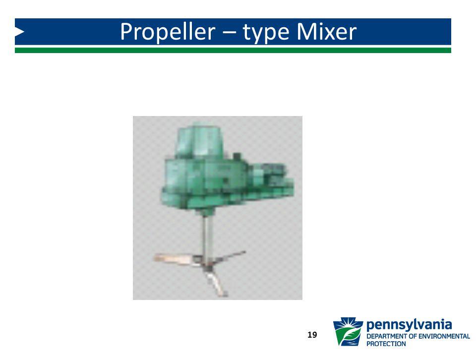 Propeller – type Mixer 19
