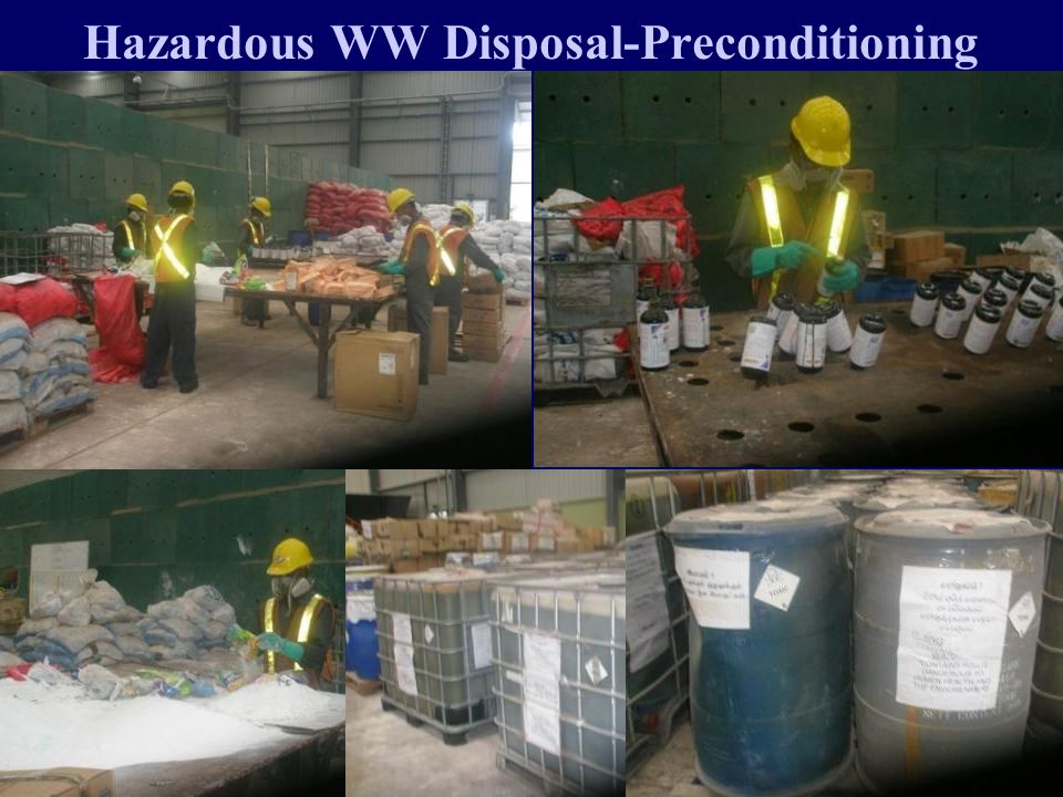 Hazardous WW Disposal-Preconditioning