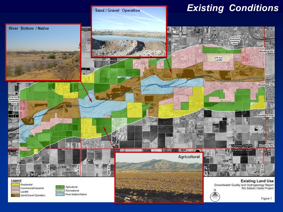 Existing Conditions River Bottom / Native Sand / Gravel Operation Agricultural