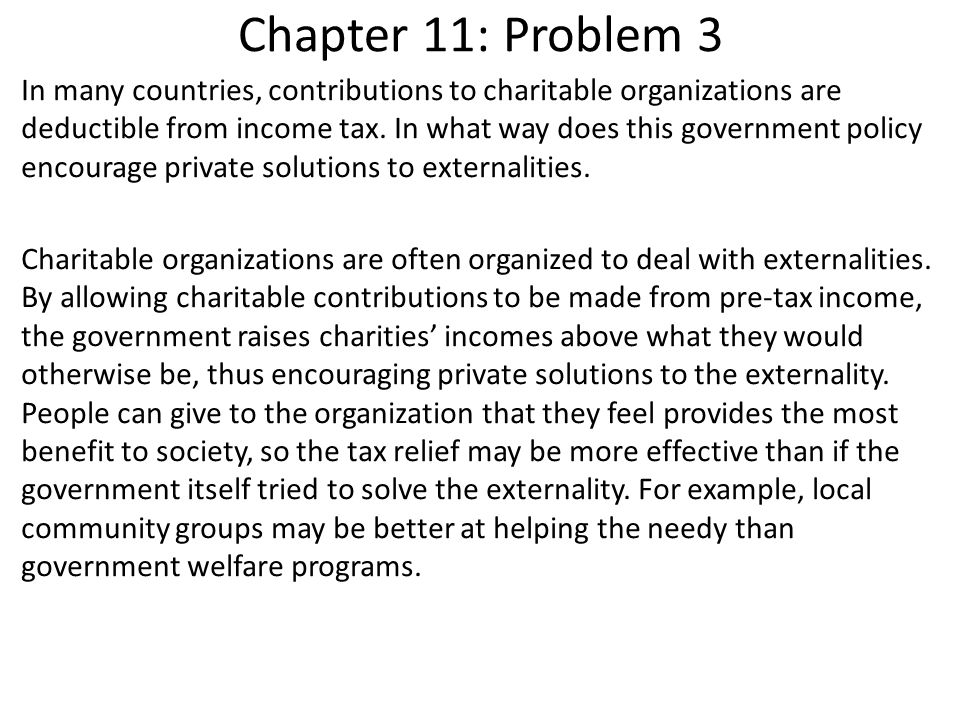 Chapter 11: Problem 4 It is rumored that the Swiss government subsidizes cattle farming, and that the subsidy is larger in areas with more tourist attractions.
