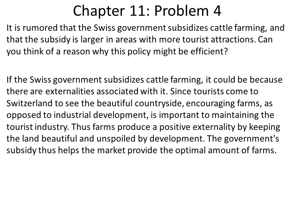 Chapter 11: Problem 5 Consider the market for train travel.