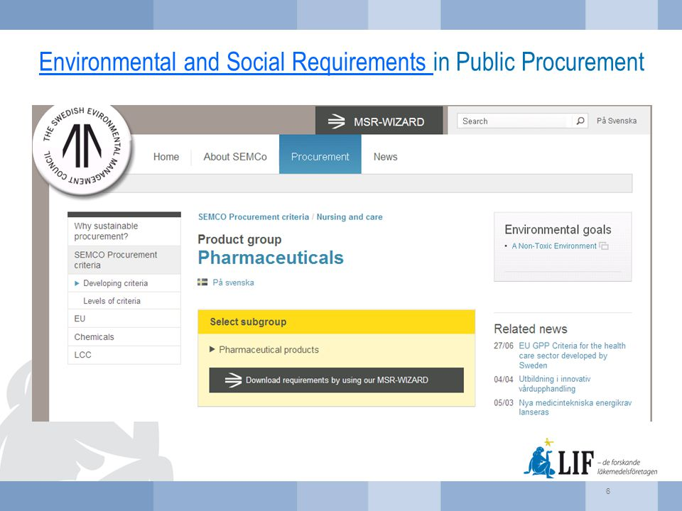 Environmental Assessment Model for Pharmaceutical Products Materiality Analysis, Carbon Footprint and other environmental measures  Basic Entry  Water use, solvent use, reagent use, PMI, material carbon footprint (calculated using RT PMI/LCA or similar tool), facility carbon footprint (calculated using the NHS guideline).