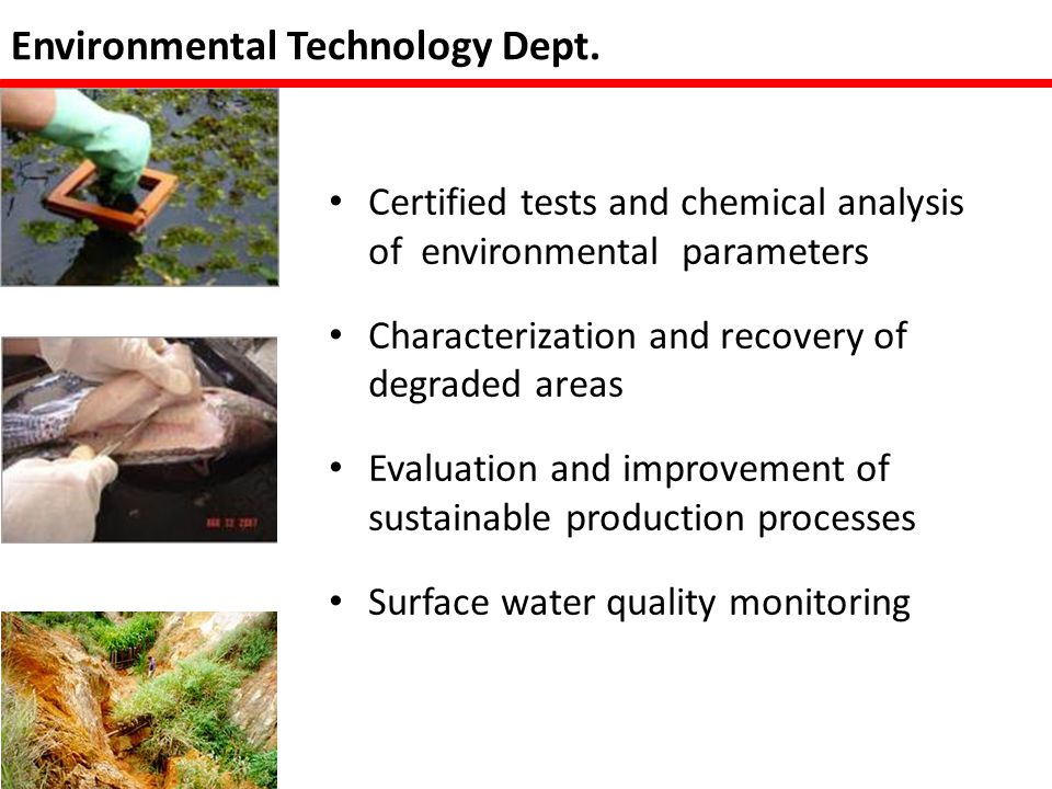Environmental Technology Dept.