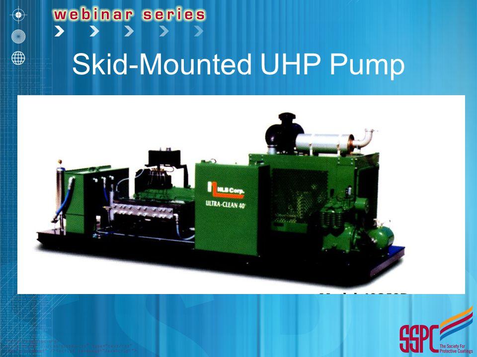 Skid-Mounted UHP Pump