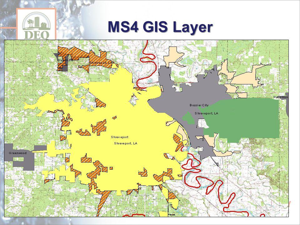 MS4 GIS Layer