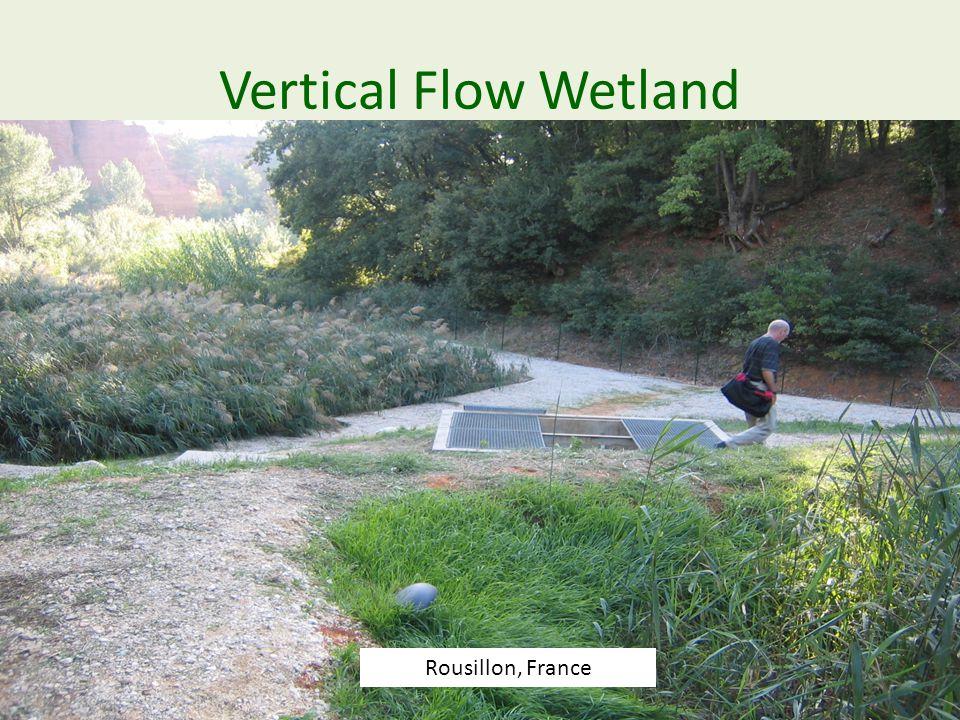 Vertical Flow Wetland Rousillon, France