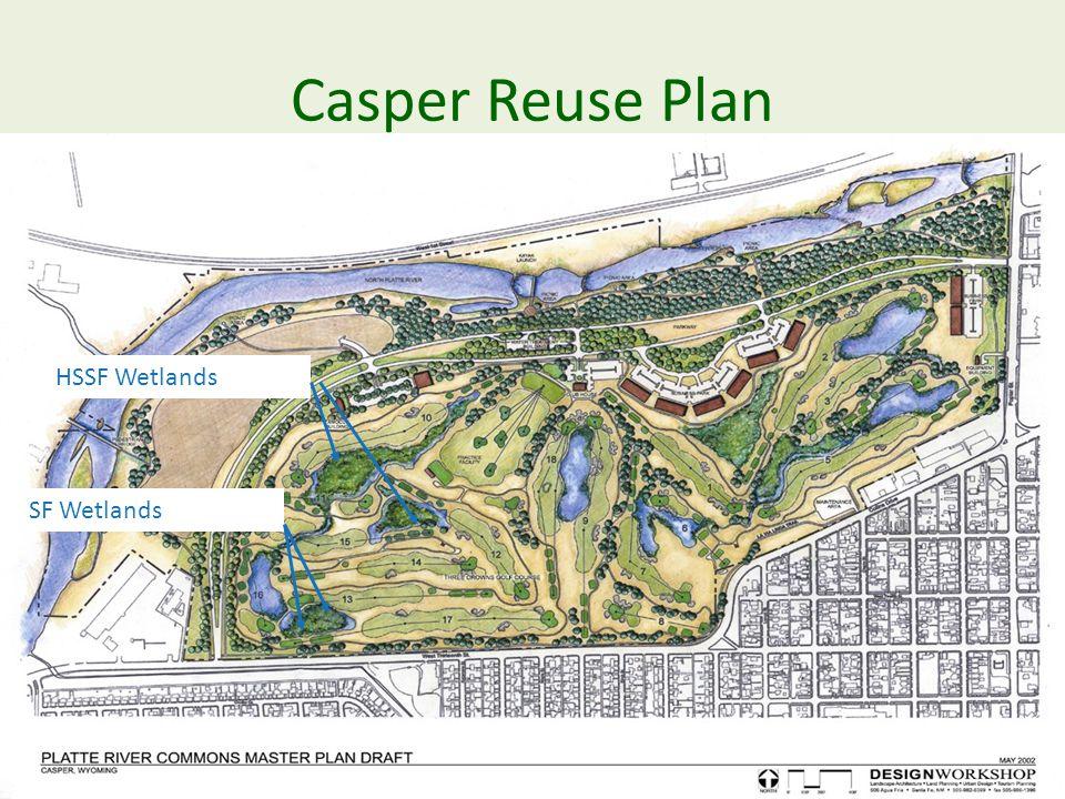 Casper Reuse Plan SF Wetlands HSSF Wetlands
