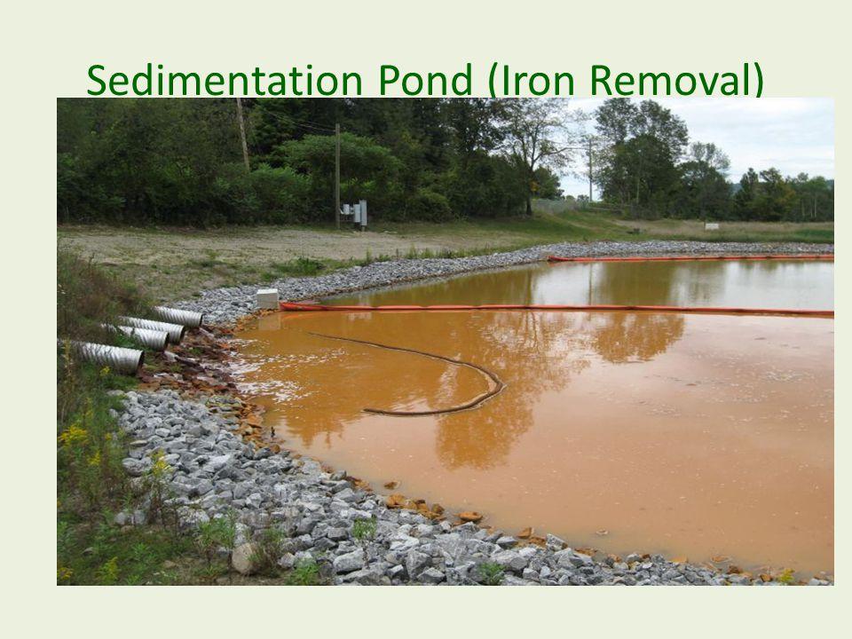 Sedimentation Pond (Iron Removal)