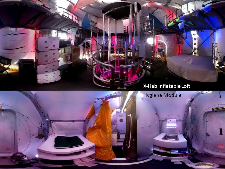 X-Hab Inflatable Loft Hygiene Module