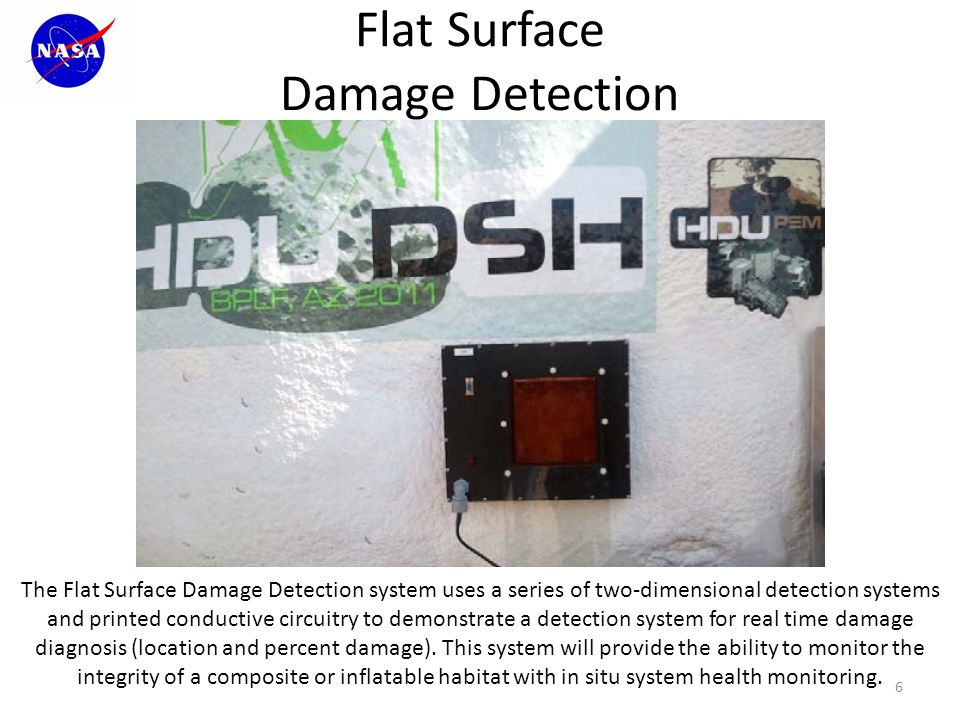 Flat Surface Damage Detection 7