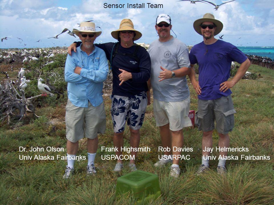 Sensor Install Team Dr.